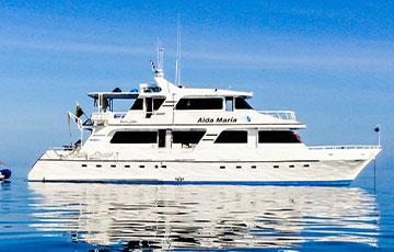 Aida Maria Yacht Galapagos