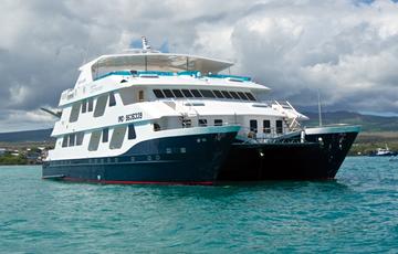 Cormorant Catamaran Galapagos