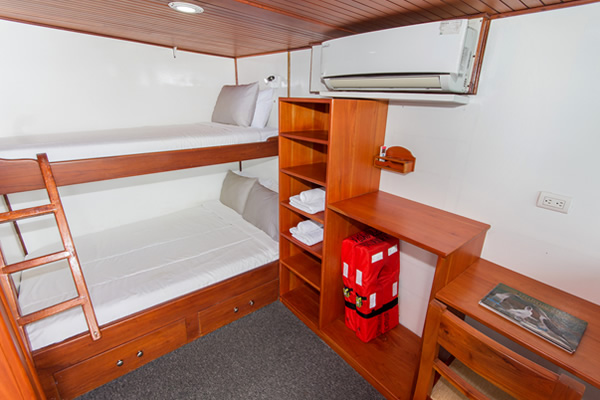 Double Room at Aqua Yacht Galapagos
