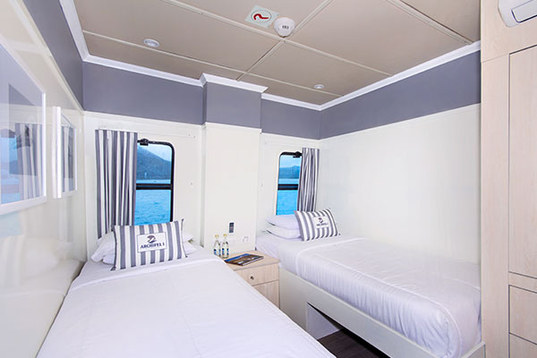 Standard Cabin - Archipell Galapagos Yacht