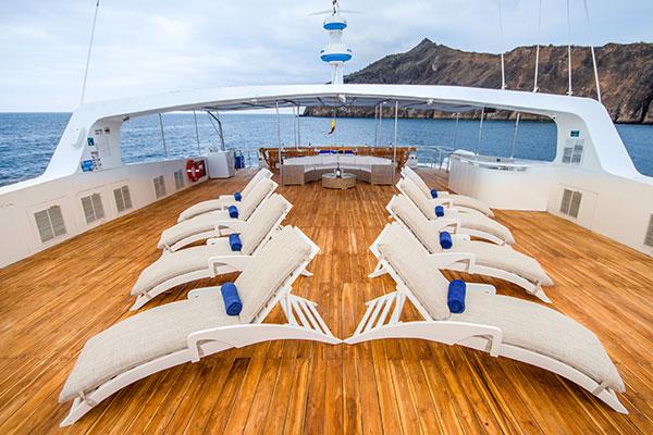 Sundeck Archipel Galapagos Catamaran