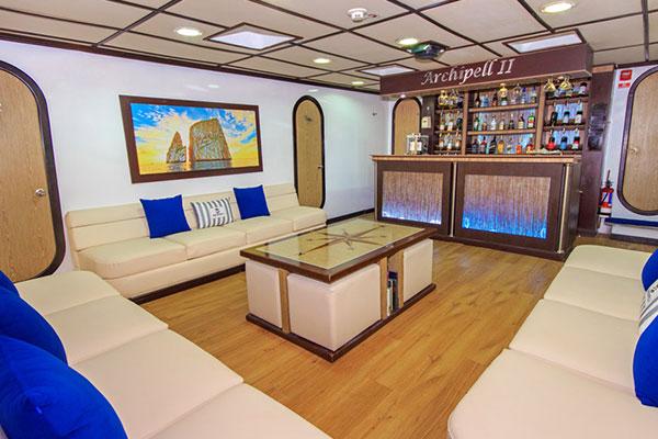 Archipell II Yacht - Lounge