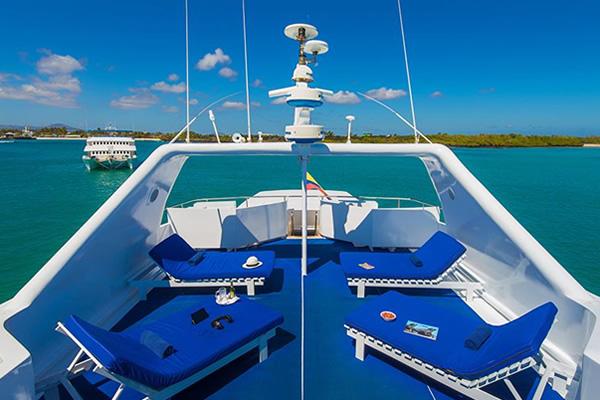 Sundeck Blue Spirit Galapagos Cruise