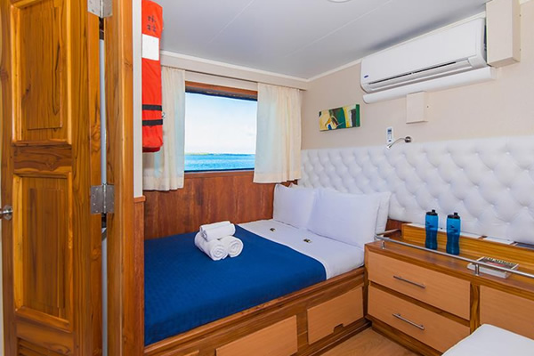 Room at Blue Spirit Galapagos Cruise