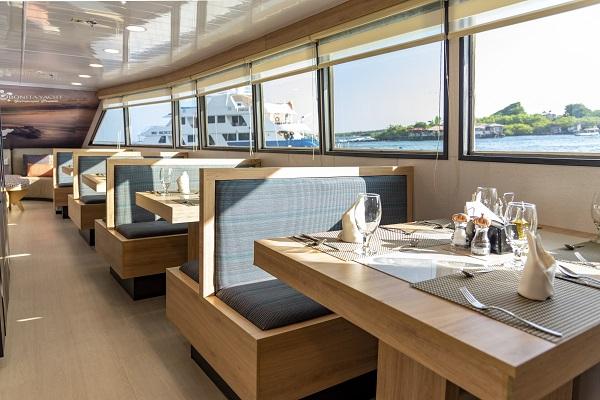 Bonita Yacht Dining Area
