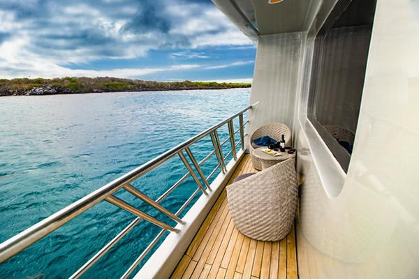 Private Balcony - Calipso Cruise Yacht