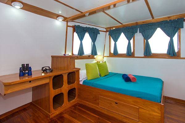 Danubio Azul Galapagos Boat - Cabin