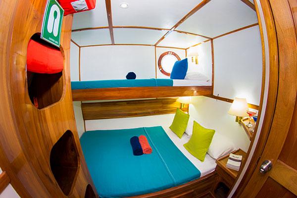 Danubio Azul Galapagos Diving Cruise - Cabin