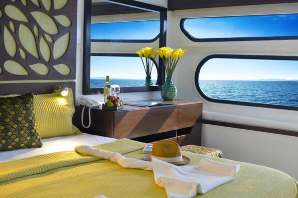 Standard Cabin at Eco Galaxy Galapagos Yacht