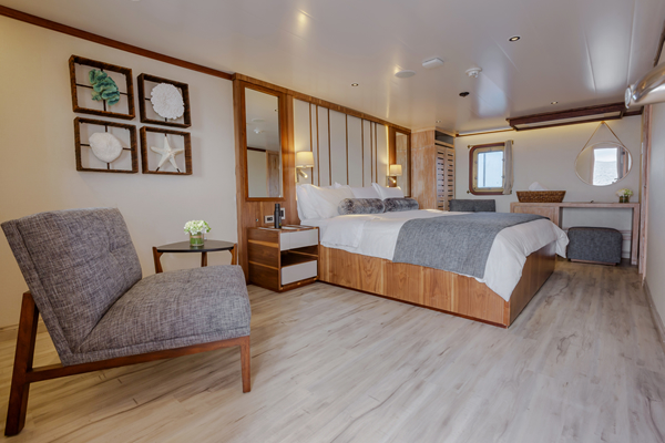 Suite at Evolution Luxury Yacht