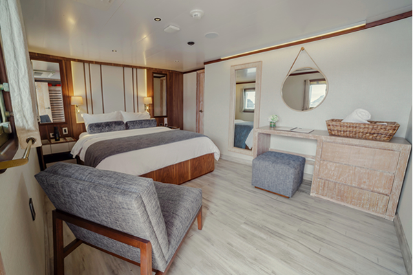 Suite at Evolution Upscale Galapagos Cruise