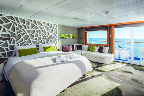 Balcony Suite Galapagos Legend Ship