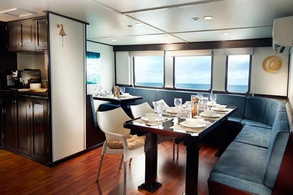 Dining Room - Galapagos Master Cruise