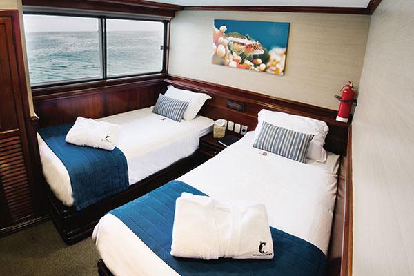 Stateroom at Galapagos Sky Cruise