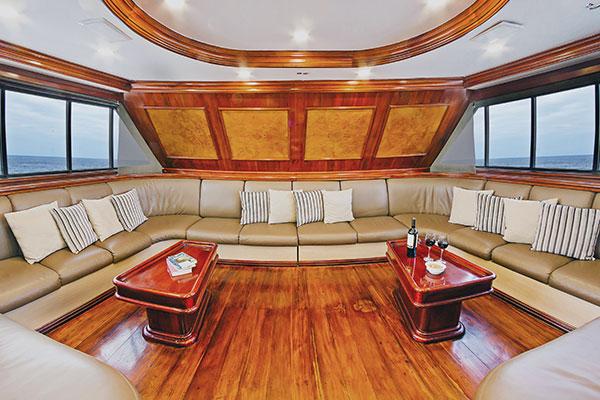 Lounge at Galapagos Sky Ship