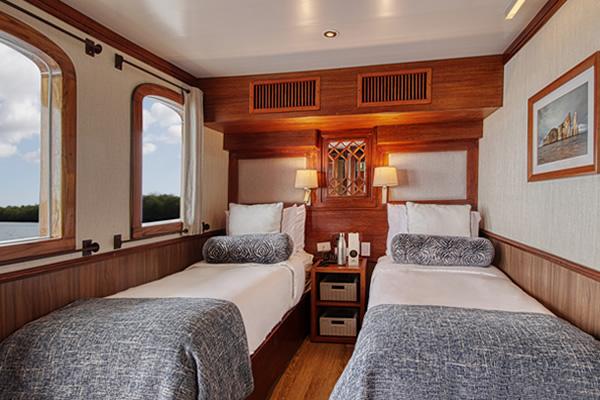 Room at Grace Galapagos Yacht