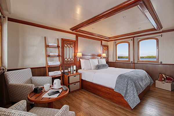 Suite - Grace Luxury Galapagos Cruise