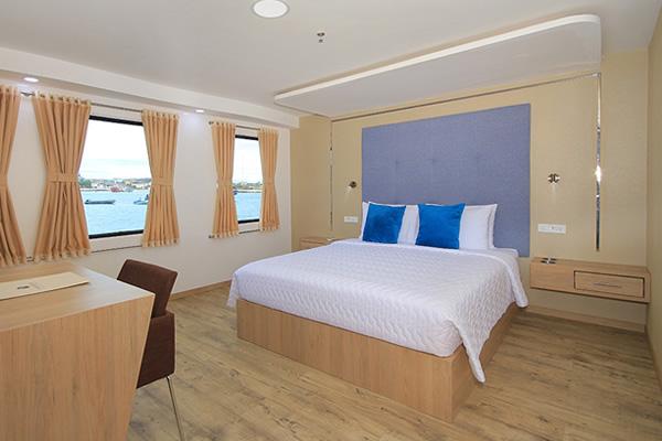 Junior Suite at Queen Elizabeth Galapagos Yacht