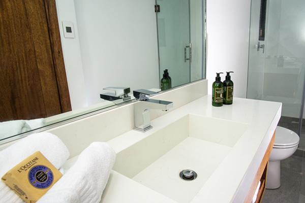 Bathroom at Infinity Galapagos Cruise