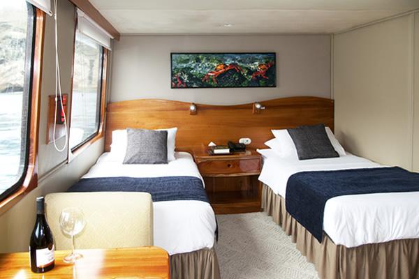 Room at Integrity Galapagos Cruise