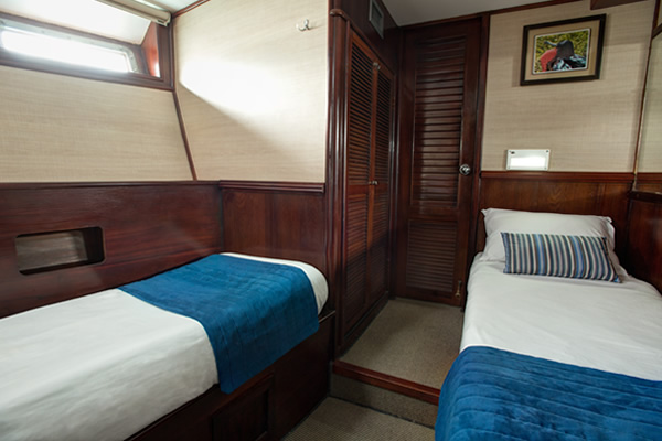 Cabin - Letty Galapagos Cruise Yacht