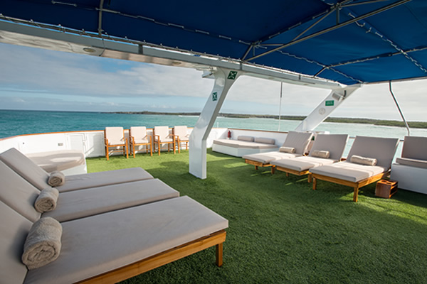 Sundeck - Letty Galapagos Cruise Yacht