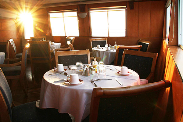 Dining Room at Millenium Galapagos Yacht