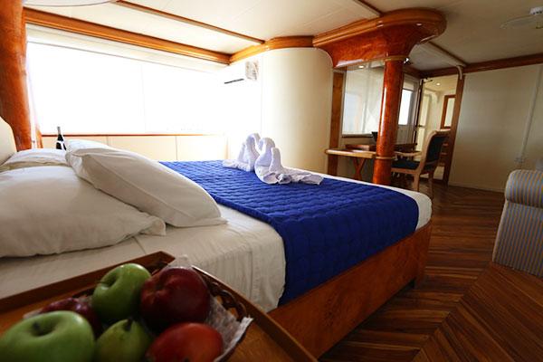 Suite at Millenium Galapagos Cruise
