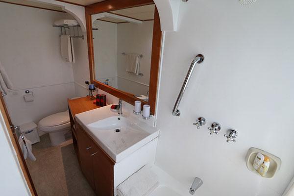 Bathroom - Millenium Galapagos Catamaran