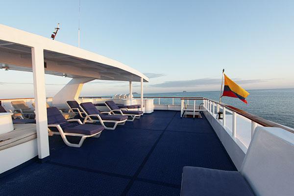 Sundeck - Millenium Galapagos Catamaran