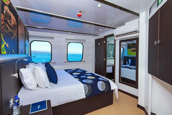 Cabin at Galapagos Natural Paradise Cruise