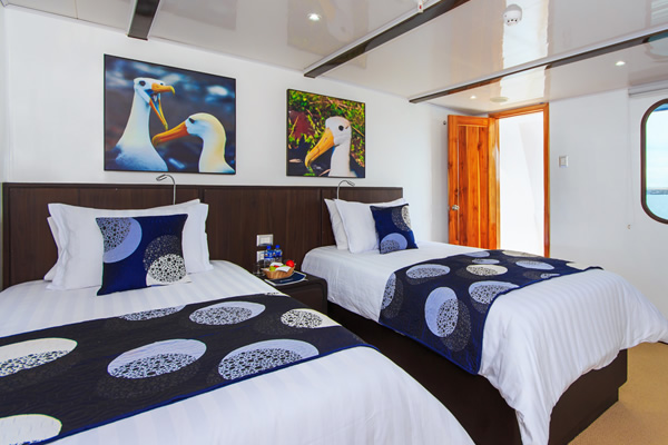 Junio Suite at Galapagos Natural Paradise Yacht