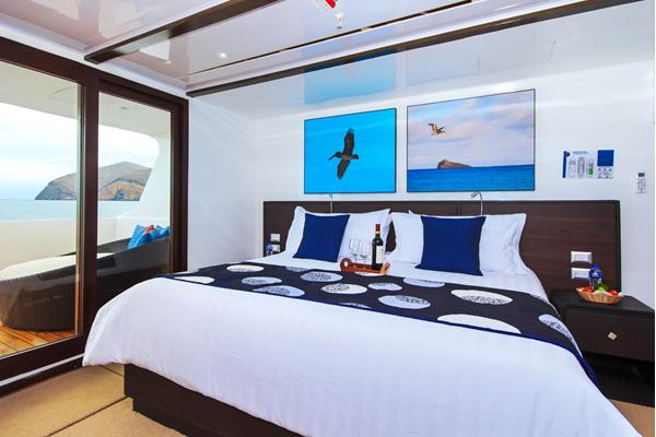 Suite at Galapagos Natural Paradise Cruise Boat