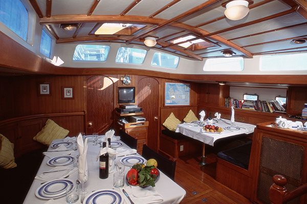 Dining Room - Nautilus Galapagos Diving Cruise