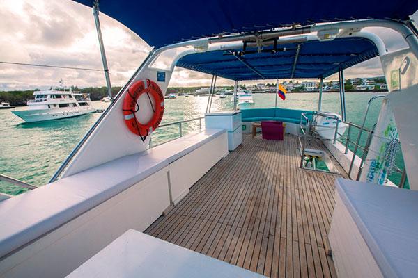 Diving Platform - Nortada Cruise Galapagos