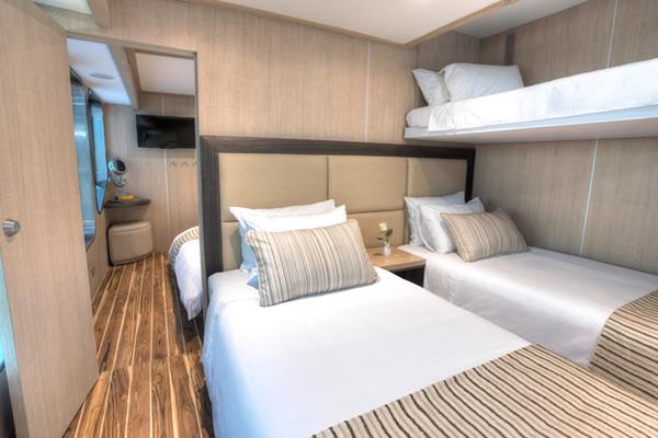Triple Cabin - Origin Galapagos Cruise Yacht