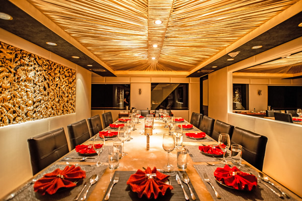 Dining Room - Passion Galapagos Boat