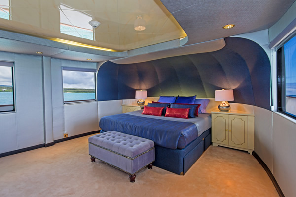Master Suite - Passion Galapagos Cruise