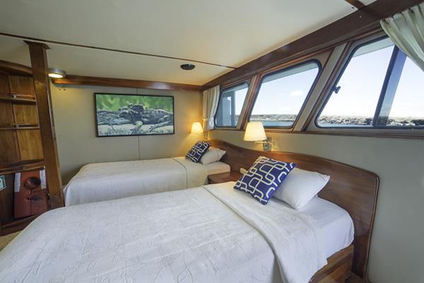 Double Room - Reina Silvia Galapagos Cruise Boat