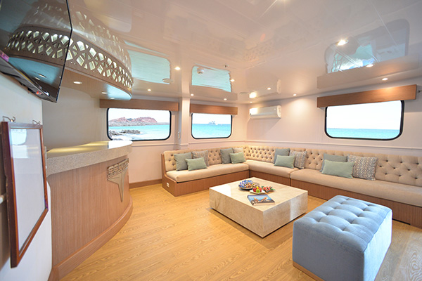 Light Lounge at Seaman Journey Catamaran