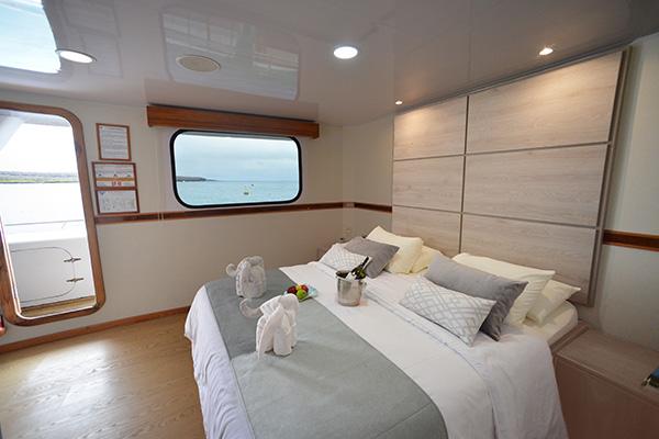 Suite at Seaman Galapagos Cruise
