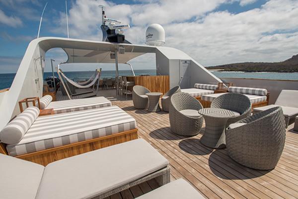 Sundeck - Theory Galapagos  Yacht