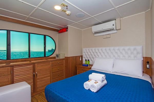 Cabin at Tip Top II Galapagos Catamaran