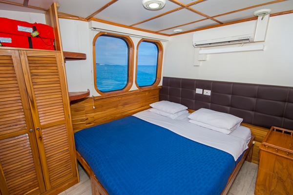 Cabin at Tip Top IV Galapagos Cruise