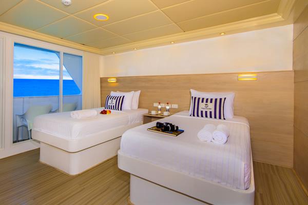 Double Room - Treasure of Galapagos Yacht