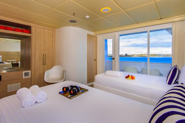 Suite at Treasure of Galapagos Yacht