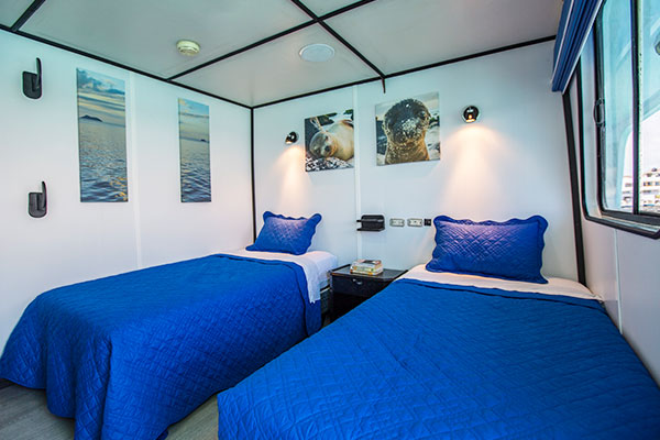 Stateroom - Yolita II Galapagos Cruise