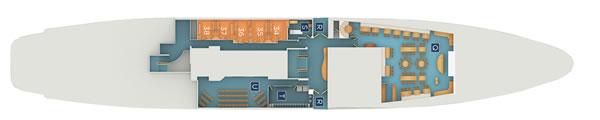Legend Sea Deck Plan